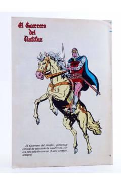 Contracubierta de EL GUERRERO DEL ANTIFAZ SERIE INÉDITA 30. DIEGO EL VILLANO (M. Gago) Valenciana 1984