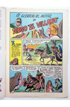 Muestra 1 de EL GUERRERO DEL ANTIFAZ SERIE INÉDITA 30. DIEGO EL VILLANO (M. Gago) Valenciana 1984