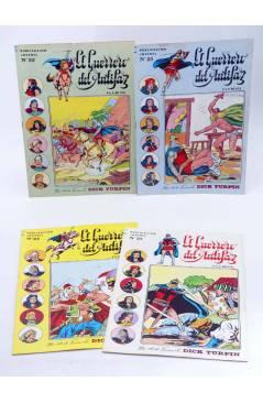 Muestra 1 de EL GUERRERO DEL ANTIFAZ SERIE INÉDITA 22 a 30. LOTE 9 ÚLTIMOS NºS (M. Gago) Valenciana 1984