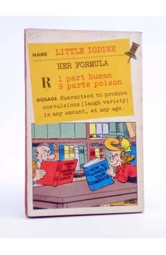 Contracubierta de DELL FIRST EDITION 78. LITTLE IODINE (Jimmy Hatlo) Dell 1956