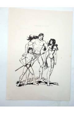 Muestra 3 de TAPAS PARA ENCUADERNAR PURK EL HOMBRE DE PIEDRA. LOTE 6 TAPAS (4+2) (M. Gago) Valenciana 1974