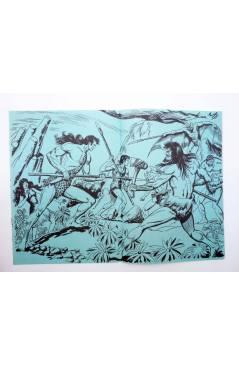 Muestra 6 de TAPAS PARA ENCUADERNAR PURK EL HOMBRE DE PIEDRA. LOTE 6 TAPAS (4+2) (M. Gago) Valenciana 1974