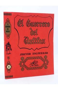 Muestra 1 de TAPAS ENCUADERNAR NUEVAS AVENTURAS EL GUERRERO DEL ANTIFAZ. LOTE DE 6 (4+2). Valenciana 1979
