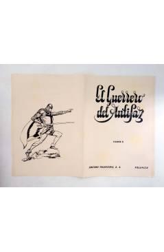 Muestra 4 de TAPAS ENCUADERNAR NUEVAS AVENTURAS EL GUERRERO DEL ANTIFAZ. LOTE DE 6 (4+2). Valenciana 1979