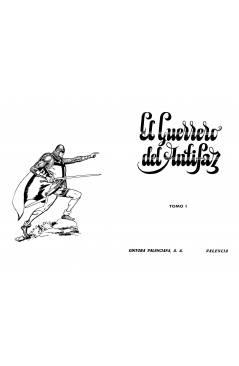 Muestra 6 de TAPAS ENCUADERNAR NUEVAS AVENTURAS EL GUERRERO DEL ANTIFAZ. LOTE DE 6 (4+2). Valenciana 1979
