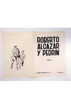 Muestra 4 de TAPAS PARA ENCUADERNAR ROBERTO ALCÁZAR Y PEDRIN TOMOS 1 A 14. COMPLETA (Vañó) Valenciana 1976