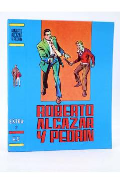 Muestra 1 de TAPAS PARA ENCUADERNAR ROBERTO ALCÁZAR Y PEDRIN EXTRA. LOTE DE 6 (5+1) (Vañó) Valenciana 1976