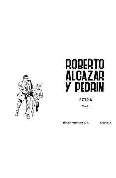 Muestra 6 de TAPAS PARA ENCUADERNAR ROBERTO ALCÁZAR Y PEDRIN EXTRA. LOTE DE 6 (5+1) (Vañó) Valenciana 1976