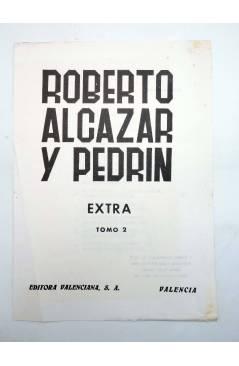 Muestra 4 de TAPAS ENCUADERNAR ROBERTO ALCÁZAR Y PEDRIN EXTRA TOMOS 1 A 6. COMPLETA (Vañó) Valenciana 1976
