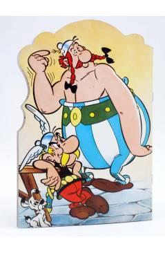 Contracubierta de CUENTOS TROQUELADOS ASTERIX 1. EL CARRO (Uderzo / Goscinny) Fher 1981