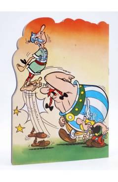 Contracubierta de CUENTOS TROQUELADOS ASTERIX 2. UN SUBTERFUGIO MUY GORDO (Uderzo / Goscinny) Fher 1981