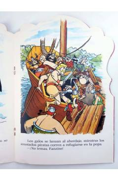 Muestra 2 de CUENTOS TROQUELADOS ASTERIX 4. EL SECUESTRO DE FANZINE (Uderzo / Goscinny) Fher 1981
