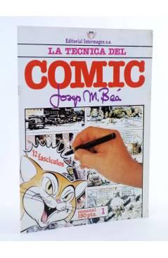 Cubierta de LA TÉCNICA DEL COMIC FASCÍCULO 1. INTRODUCCIÓN (Josep Mª Beá) Intermagen 1985