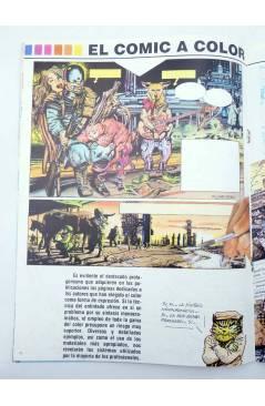 Muestra 3 de LA TÉCNICA DEL COMIC FASCÍCULO 1. INTRODUCCIÓN (Josep Mª Beá) Intermagen 1985