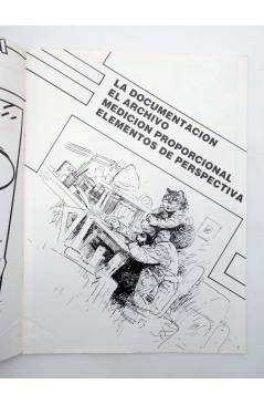 Muestra 1 de LA TÉCNICA DEL COMIC FASCÍCULO 2. DOCUMENTACIÓN / PERSPECTIVA (Josep Mª Beá) Intermagen 1985
