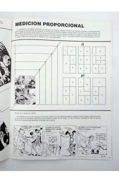 Muestra 4 de LA TÉCNICA DEL COMIC FASCÍCULO 2. DOCUMENTACIÓN / PERSPECTIVA (Josep Mª Beá) Intermagen 1985