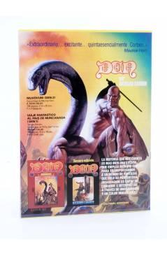Contracubierta de LA TÉCNICA DEL COMIC FASCÍCULO 4. EL GUIÓN (Josep Mª Beá) Intermagen 1985