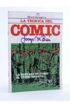 Cubierta de LA TÉCNICA DEL COMIC FASCÍCULO 10. LA PORTADA / CÓMIC INFANTIL (Josep Mª Beá) Intermagen 1985