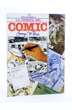 Contracubierta de LA TÉCNICA DEL COMIC FASCÍCULO 11. EL CÓMIC DE HUMOR (Josep Mª Beá) Intermagen 1985