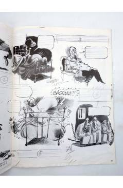Muestra 1 de LA TÉCNICA DEL COMIC FASCÍCULO 11. EL CÓMIC DE HUMOR (Josep Mª Beá) Intermagen 1985