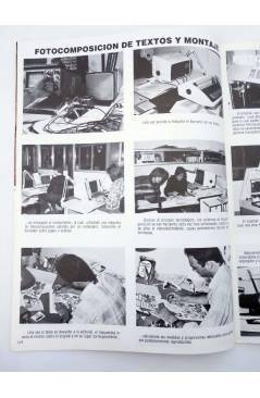 Muestra 2 de LA TÉCNICA DEL COMIC FASCÍCULO 12. EL PROCESO INDUSTRIAL (Josep Mª Beá) Intermagen 1985