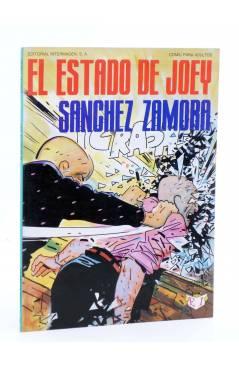 Cubierta de COLECCIÓN INTERMAGEN 2. EL ESTADO DE JOEY (Sánchez Zamora - Josep Mª Beá) Intermagen 1985