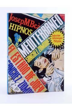 Cubierta de COLECCIÓN INTERMAGEN RETAPADO NºS 3 4 5. MEDITERRÁNEO / PETER HIPNOS / FOBIA (Josep Mª Beá) Intermagen 1985