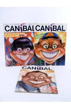 Cubierta de CANÍBAL 1 2 3. COLECCIÓN COMPLETA (Vvaa) Intermagen 1985