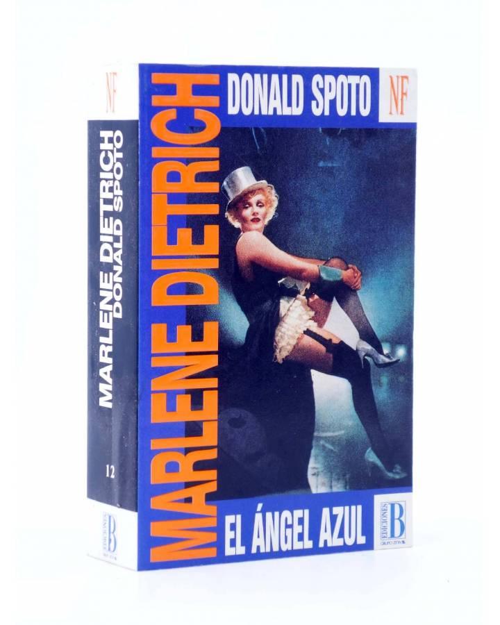 Cubierta de MARLENE DIETRICH EL ÁNGEL AZUL (Donald Spoto) B 1994