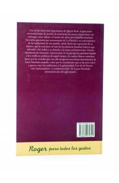 Contracubierta de LA CAUTIVA BLANCA (Thomas Mayne Reid) Roger 1998