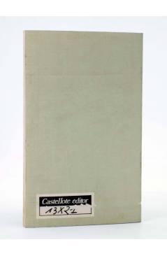 Contracubierta de CRÍTICA DE LA PLANIFICACIÓN SOCIAL ESPAÑOLA 1964-1975 (Del Campo / Navarro) Castellote 1976