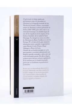 Contracubierta de EL GOBERNADOR DE INDIAS (J.M. Carrillo De Albornoz) Verticales de Bolsillo 2007
