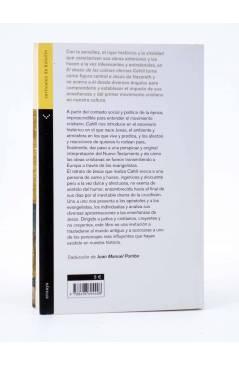 Contracubierta de EL DESEO DE LAS COLINAS ETERNAS (Thomas Cahill) Verticales de Bolsillo 2007