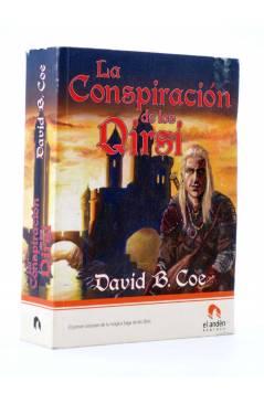 Cubierta de LA CONSPIRACIÓN DE LOS QIRSI (David B. Coe) El Andén 2007