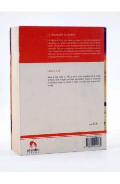 Contracubierta de LA CONSPIRACIÓN DE LOS QIRSI (David B. Coe) El Andén 2007