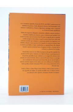 Contracubierta de LOS ESPAÑOLES DE STALIN (Daniel Arasa) Bellacqva 2005