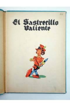 Muestra 1 de COLECCIÓN AZUR 17. EL SASTRECILLO VALIENTE (J. Martí) Cervantes Circa 1950