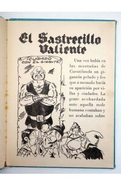 Muestra 2 de COLECCIÓN AZUR 17. EL SASTRECILLO VALIENTE (J. Martí) Cervantes Circa 1950
