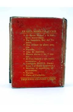 Contracubierta de PEQUEÑOS GRANDES LIBROS 1121. POPEYE. ESPAGUETTI Y EL MISTERIO DEL MAR (Walt Disney) Abril 1946