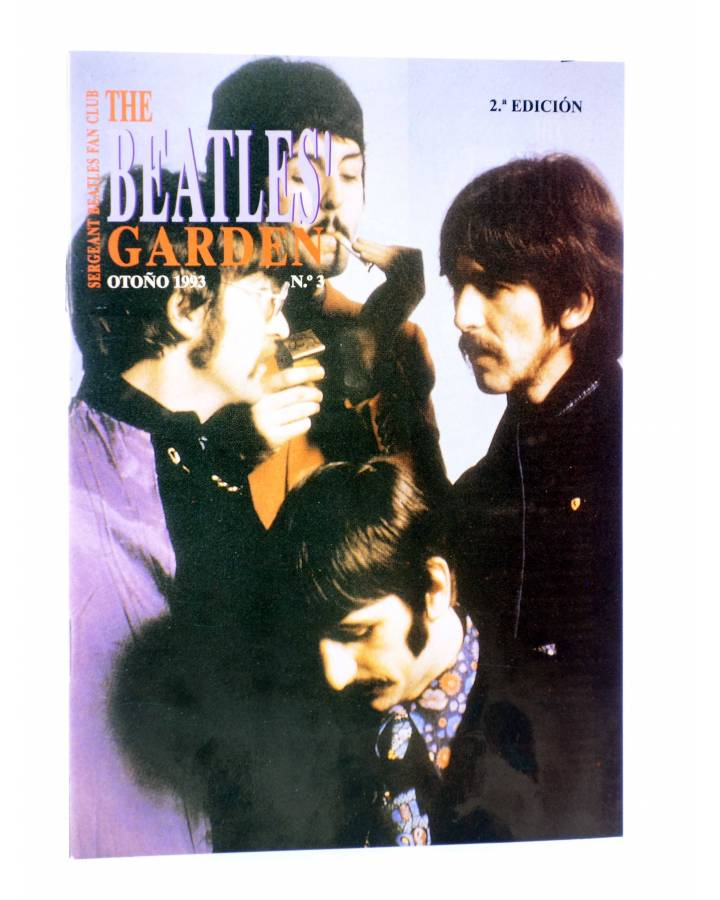 Cubierta de REVISTA THE BEATLES' GARDEN 3. OTOÑO 1993 (Vvaa) Sergeant Beatles Fan Club 1993