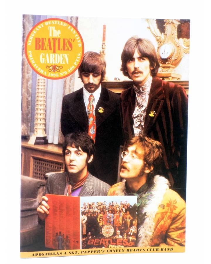 Cubierta de REVISTA THE BEATLES' GARDEN 9. PRIMAVERA 1995 (Vvaa) Sergeant Beatles Fan Club 1995