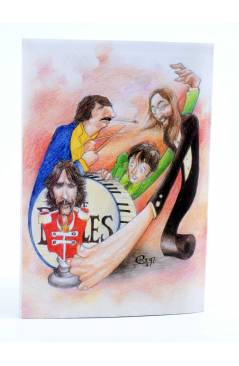 Contracubierta de REVISTA THE BEATLES' GARDEN 18. VERANO 1997 (Vvaa) Sergeant Beatles Fan Club 1997