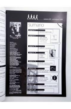 Muestra 1 de REVISTA THE BEATLES' GARDEN 25. PRIMAVERA 1999 (Vvaa) Sergeant Beatles Fan Club 1999