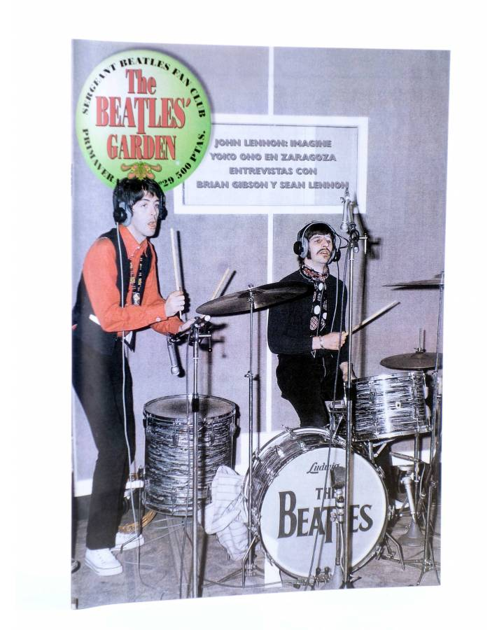 Cubierta de REVISTA THE BEATLES' GARDEN 29. PRIMAVERA 2000 (Vvaa) Sergeant Beatles Fan Club 2000