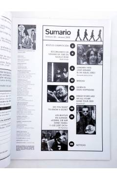 Muestra 1 de REVISTA THE BEATLES' GARDEN 30. VERANO 2000 (Vvaa) Sergeant Beatles Fan Club 2000