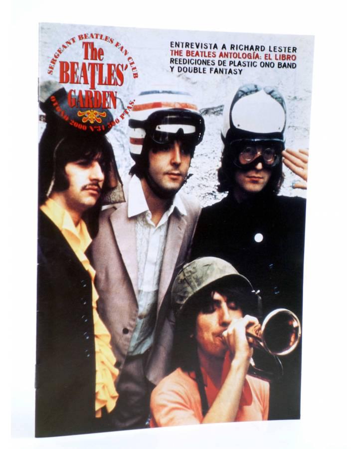Cubierta de REVISTA THE BEATLES' GARDEN 31. OTOÑO 2000 (Vvaa) Sergeant Beatles Fan Club 2000
