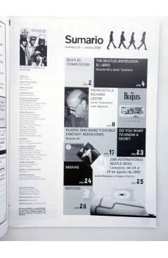 Muestra 1 de REVISTA THE BEATLES' GARDEN 31. OTOÑO 2000 (Vvaa) Sergeant Beatles Fan Club 2000