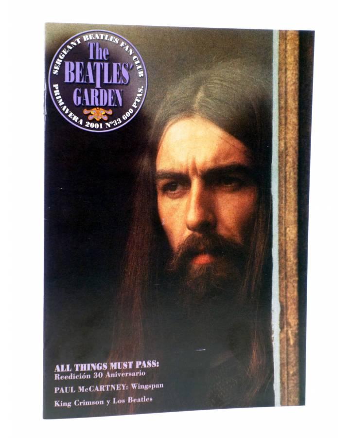 Cubierta de REVISTA THE BEATLES' GARDEN 33. PRIMAVERA 2001 (Vvaa) Sergeant Beatles Fan Club 2001