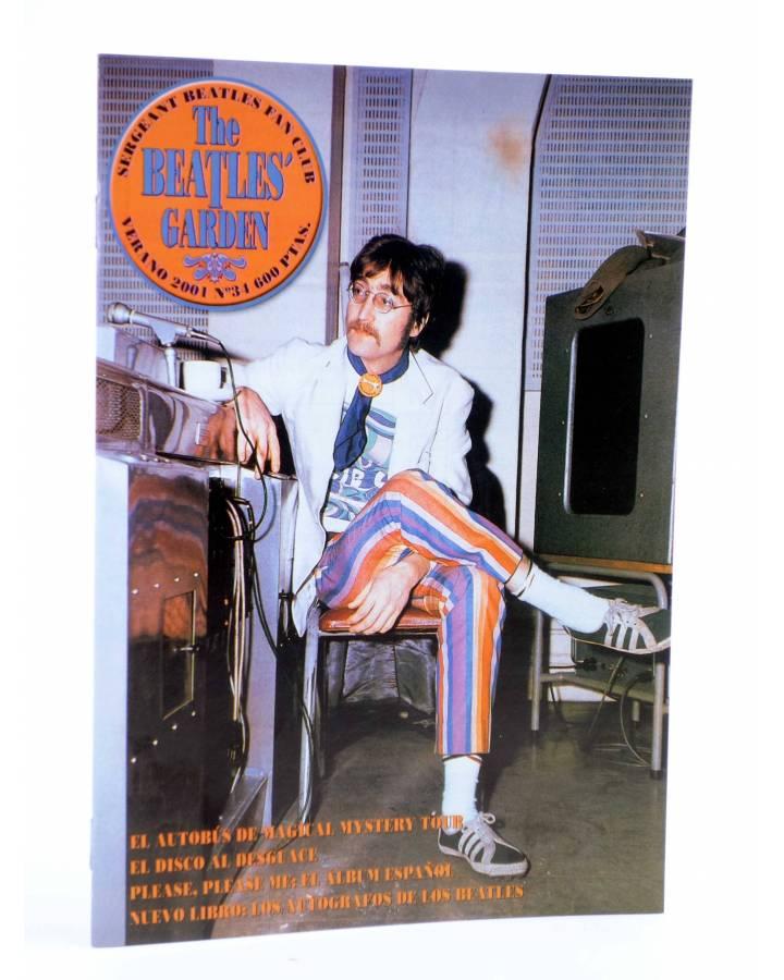 Cubierta de REVISTA THE BEATLES' GARDEN 34. VERANO 2001 (Vvaa) Sergeant Beatles Fan Club 2001