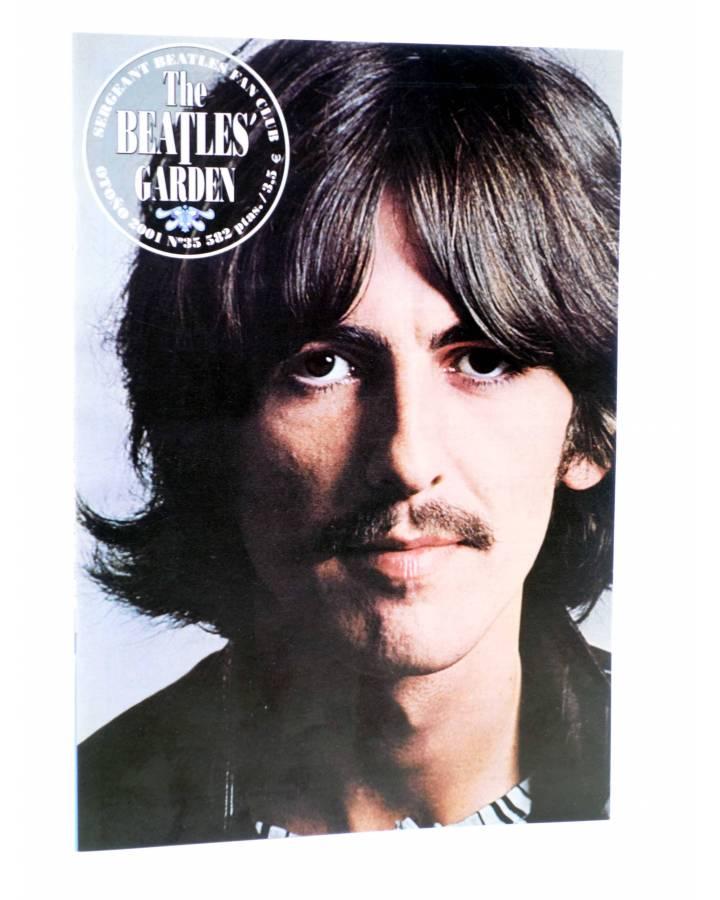 Cubierta de REVISTA THE BEATLES' GARDEN 35. OTOÑO 2001 (Vvaa) Sergeant Beatles Fan Club 2001